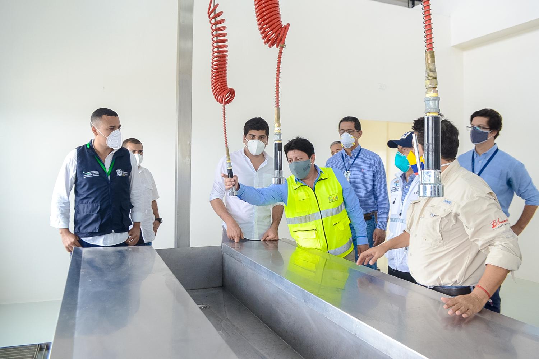 Facilidad Pesquera de San José de Chamanga inicia operaciones la próxima semana